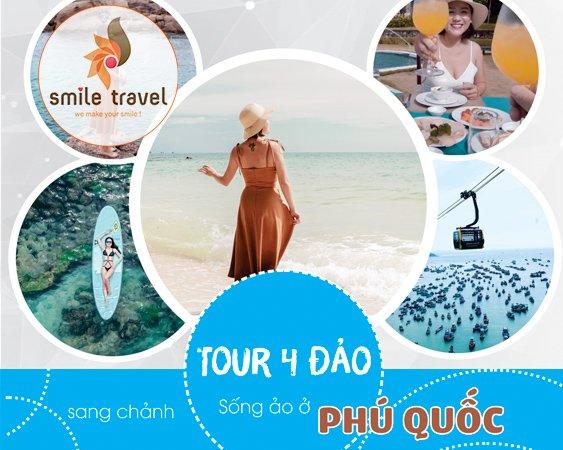 TOUR 4 ĐẢO + BÃI SAO PHÚ QUỐC