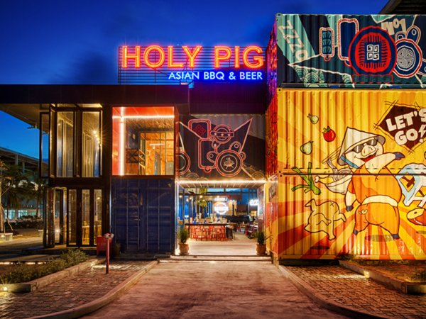 COCOBAY ĐÀ NẴNG - NHÀ HÀNG HOLY PIG ĐIỂM ĐẾN LÝ TƯỞNG